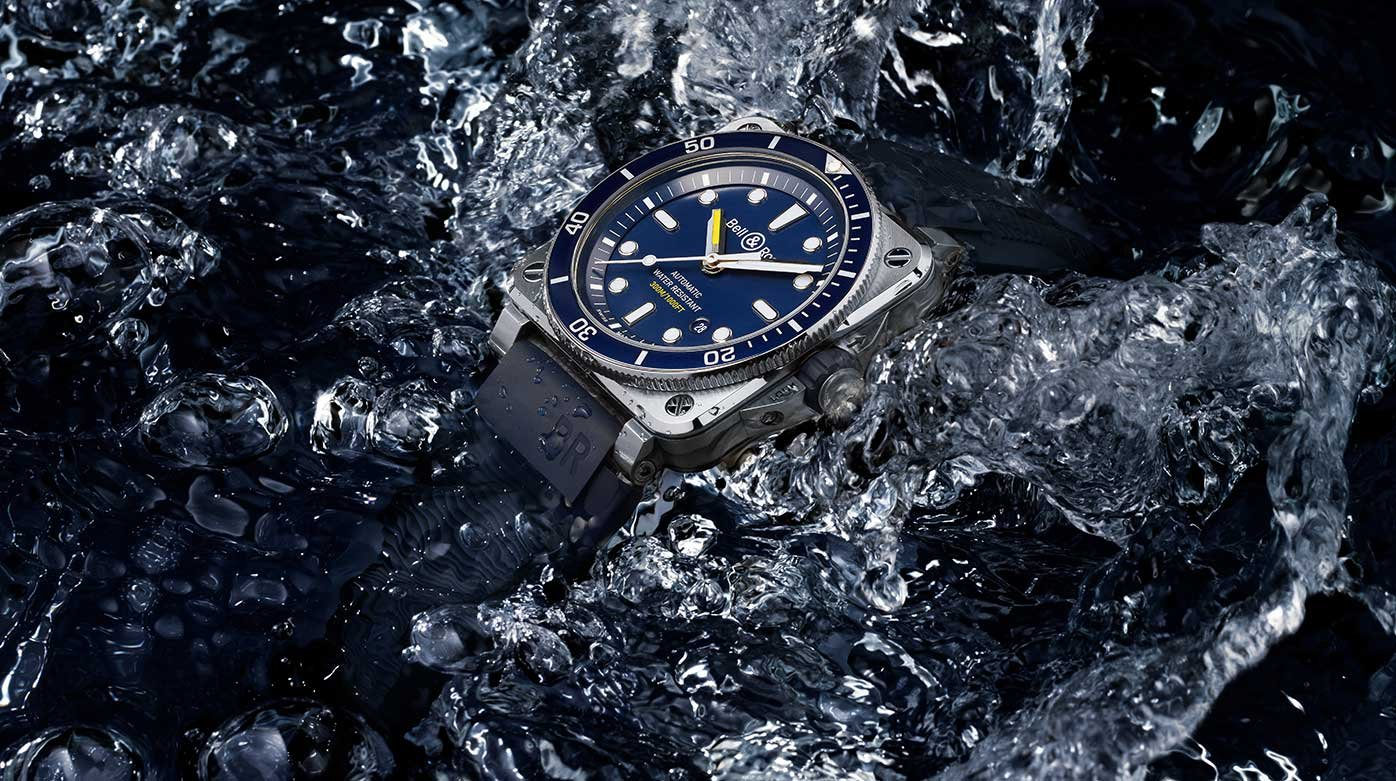 Bell & Ross - Diver Blue, Diver Bronze
