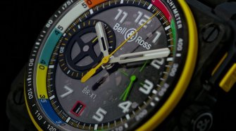 BR-RS17 – Chronographs designed like a F1 engine