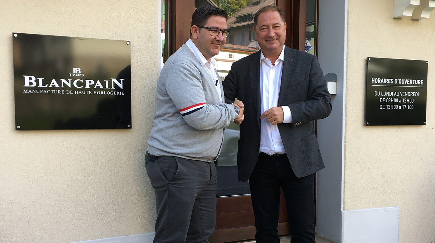 Blancpain - Interview with Dani García and Alain Delamuraz