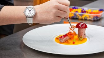 When Horology Meets Gastronomy Arts and culture