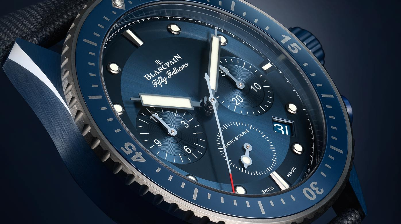 Blancpain/Bucherer - Fifty Fathoms Bathyscaphe Bucherer Blue Editions