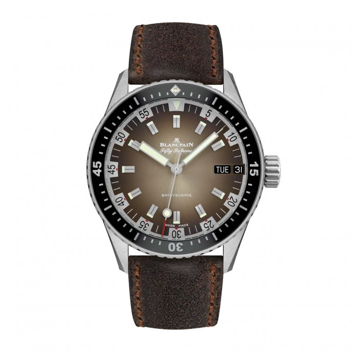 Fifty Fathoms Bathyscaphe Day Date 70s