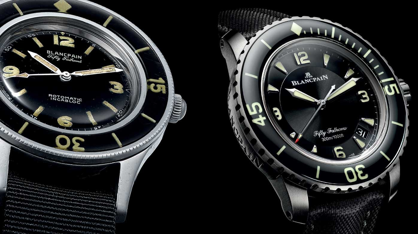 Blancpain - Back in Time : la Fifty Fathoms à travers les âges