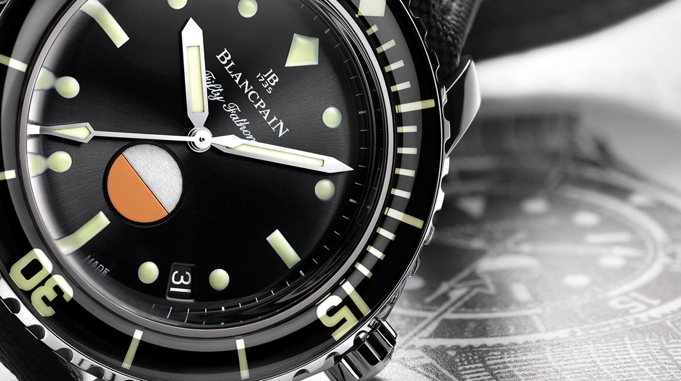 Blancpain - Tribute to Fifty Fathoms MIL-SPEC
