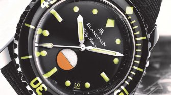 Tribute to Fifty Fathoms MIL-SPEC Only Watch Watches