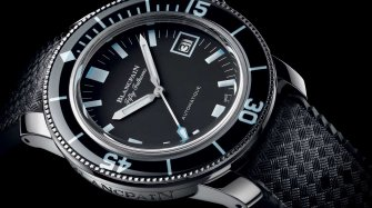 Une Fifty Fathoms Barakuda pour Only Watch  Style & Tendance