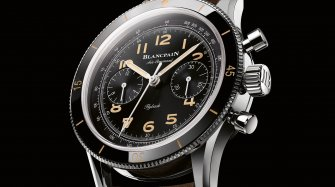 Blancpain's vintage wings Trends and style