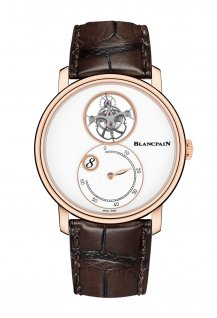 Flying Tourbillon with Jump Hours and Retrograde Minutes