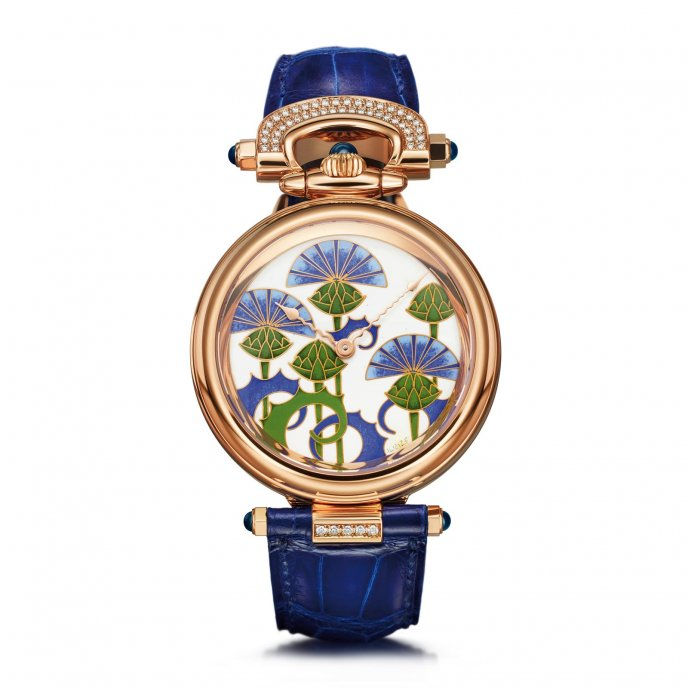 Amadeo Fleurier 39 Blue Burdocks par Ilgiz F.