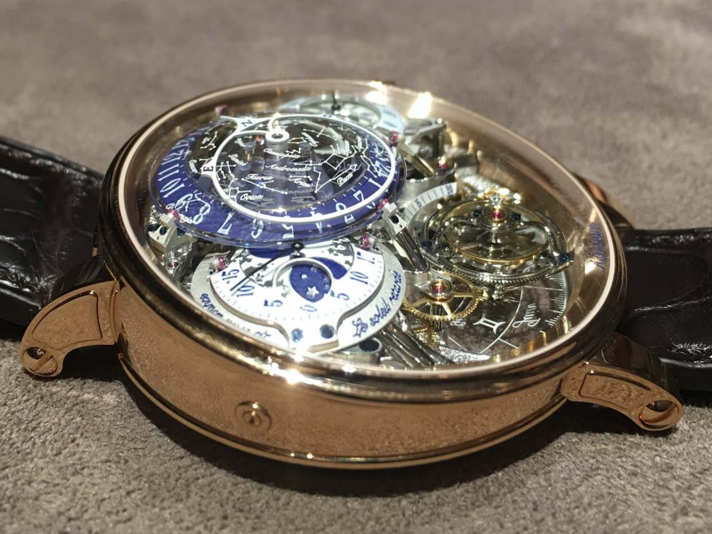 before fleurier time with motif base guilloch amadeo the a translucent maison watches v finally applied decorating lacquer bovet artisans blue of layers metal dozen and after virtuoso