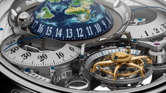 Bovet Grand Récital, lunar scenography Watches