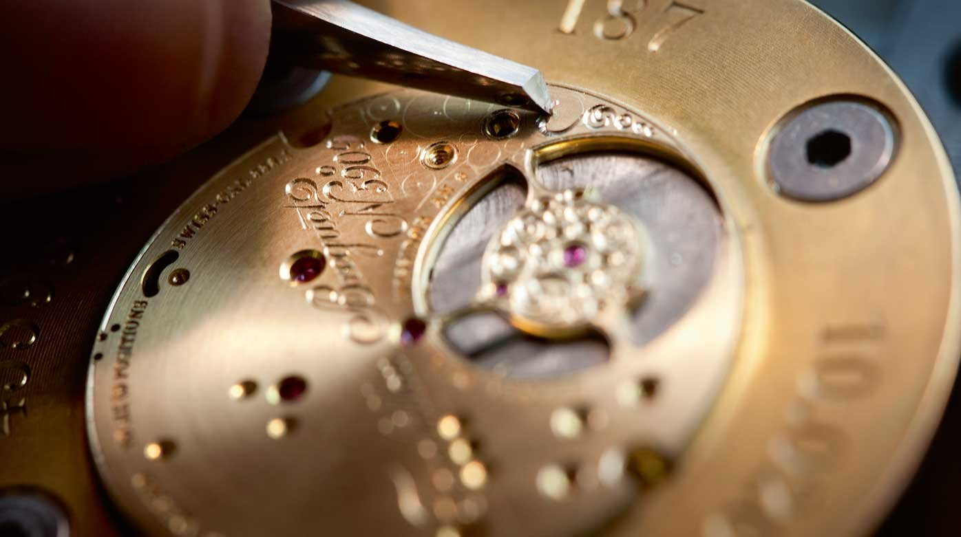 Breguet - Movement decoration