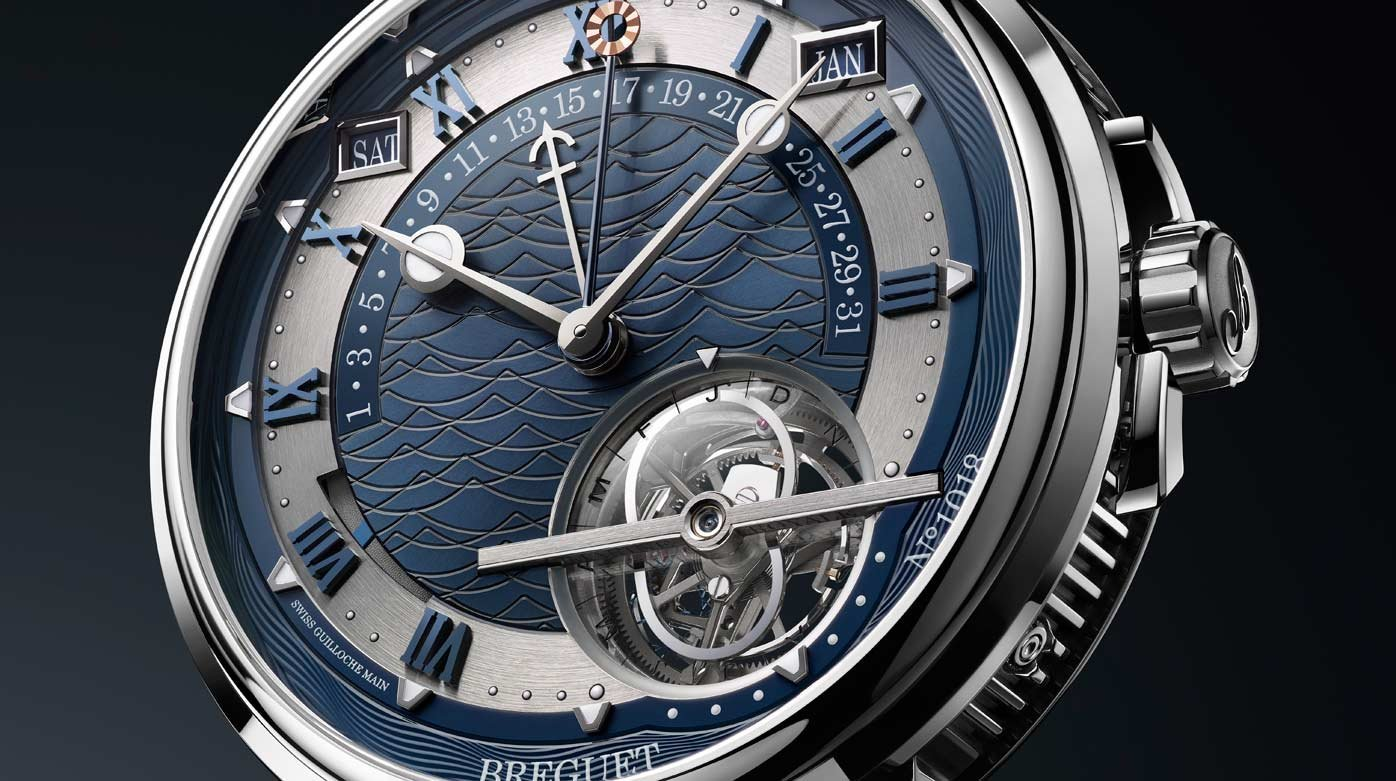 Breguet - Marine Equation Marchante 5887
