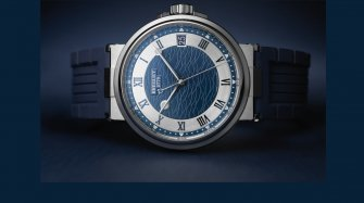 Breguet Marine 5517 Bucherer Blue Editions  Trends and style