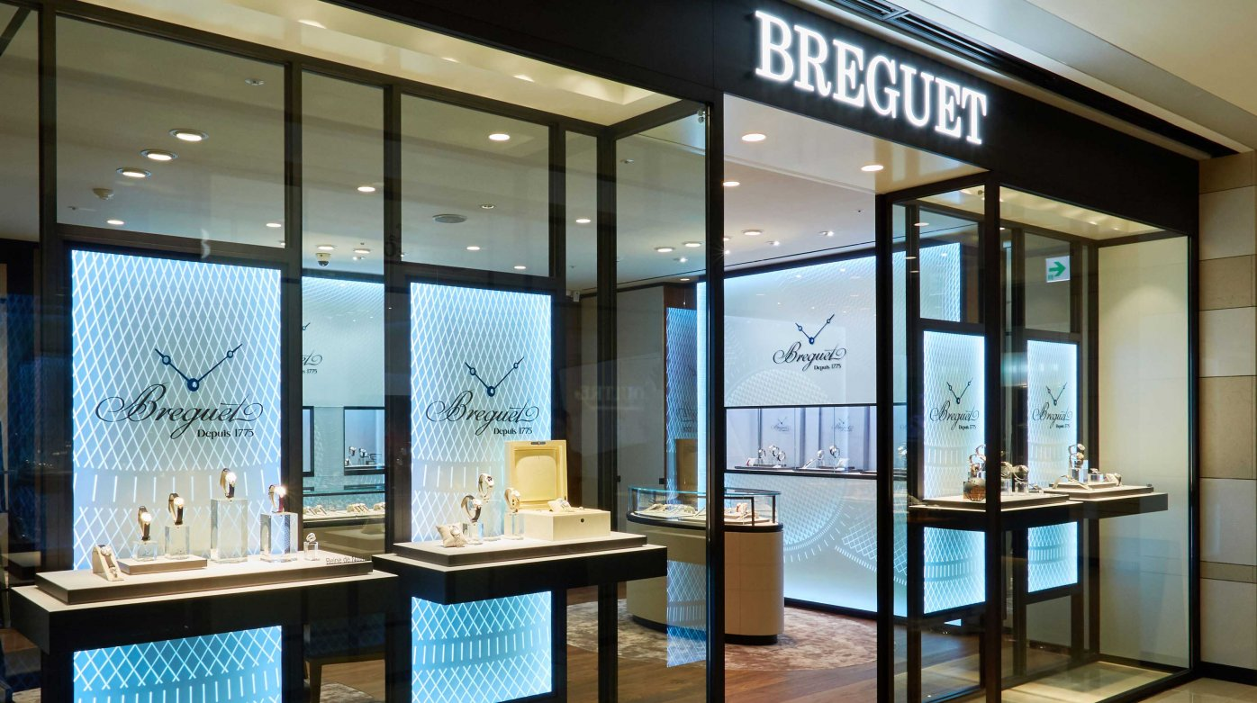 Breguet - New image for the Breguet boutique of Hyundai Main in Korea