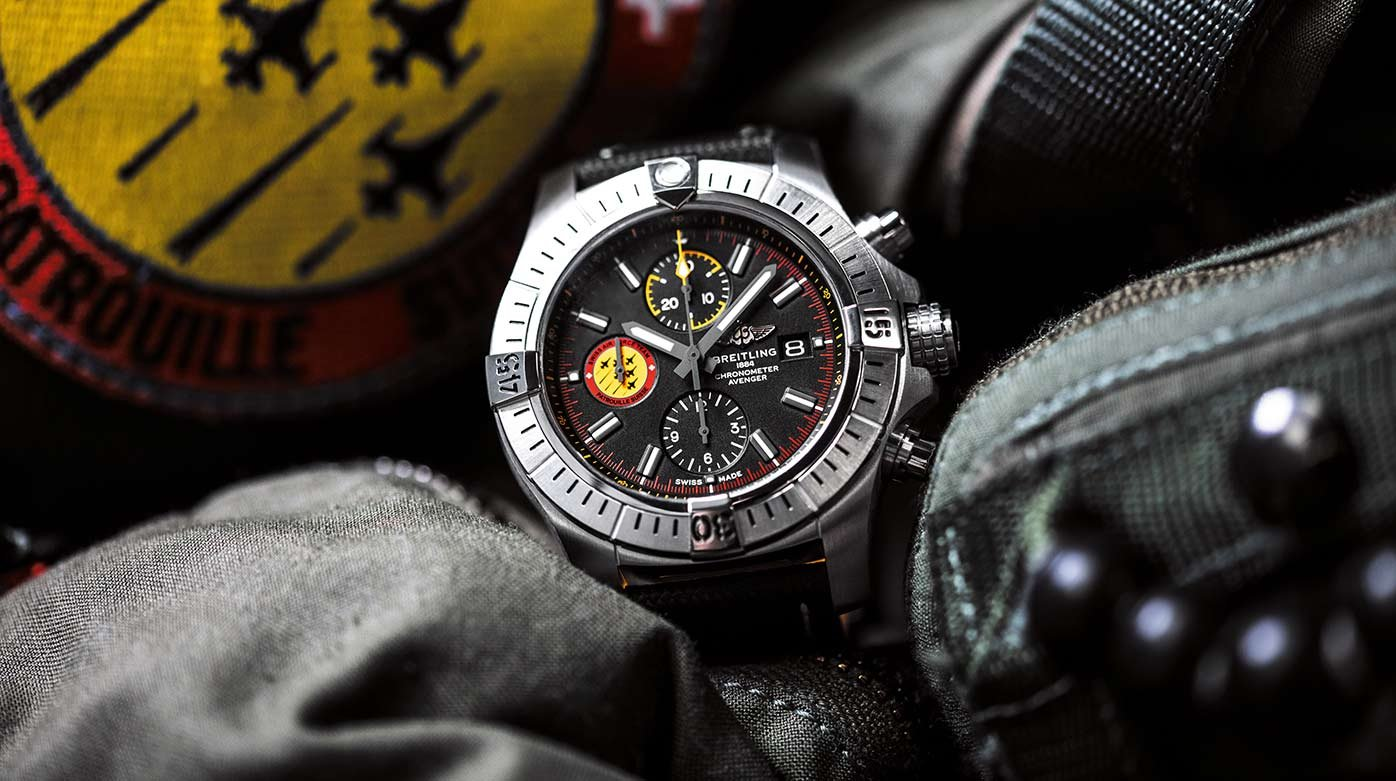 Breitling - Avenger Swiss Air Force Team Limited Edition