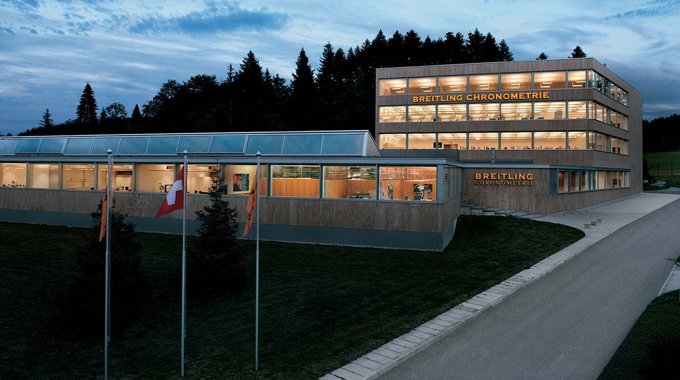 Breitling - The brand participates in the Geneva Watch Days