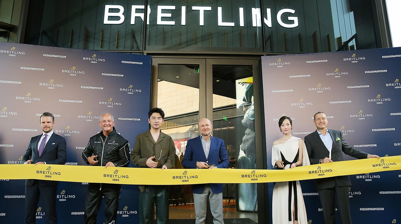 Breitling - Opening of the first flagship store in Asia