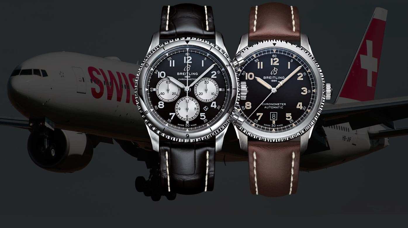 Breitling - All aboard with SWISS