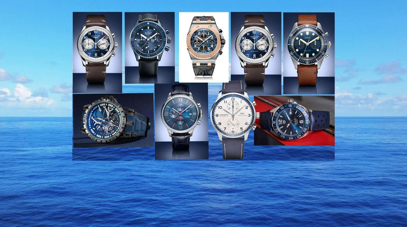 Bucherer - Les sportives de la collection Bucherer Blue Editions