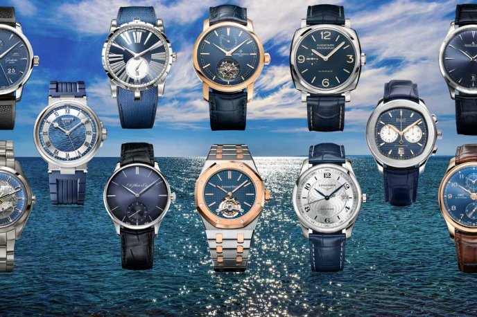 Classic watches from the Bucherer Blue Editions
