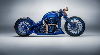 Harley-Davidson Blue Edition Innovation et technique