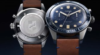 Divers Sixty-Five Chronograph Bucherer Blue Editions Trends and style