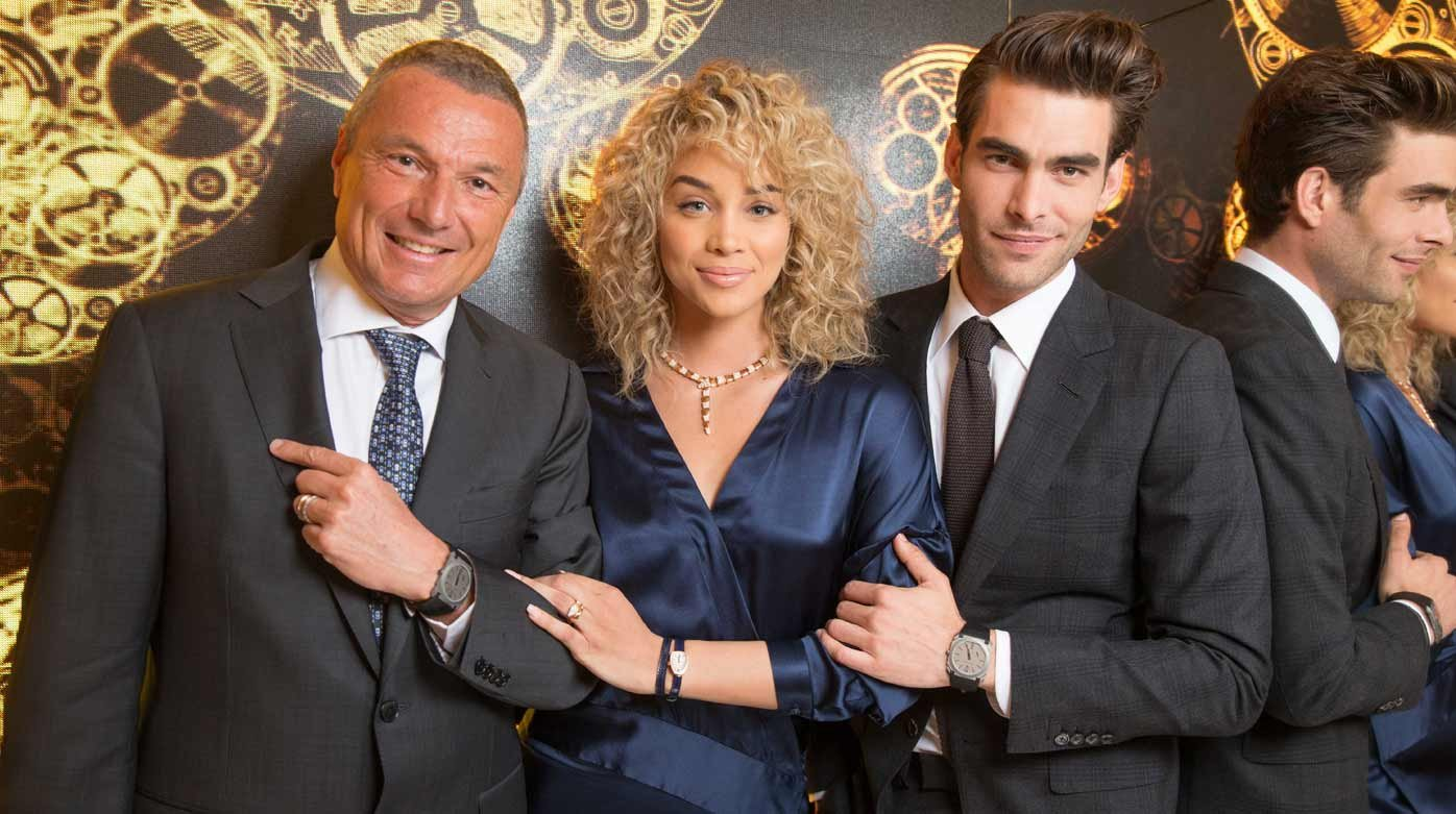 Bulgari - Jon Kortajarena, the new Bulgari Global Watches Ambassador