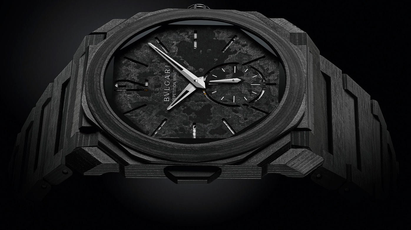 Bulgari - Octo Finissimo Repetición de Minutos Carbono