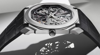 Octo Finissimo Skeleton Titanium Trends and style