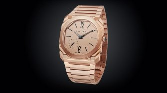 L'or et la Bulgari Octo Finissimo Automatique Sablée en or Style & Tendance