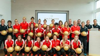 The Swiss Women's National Football at the manufacture