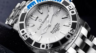 Patravi ScubaTec, steel, white dial Trends and style