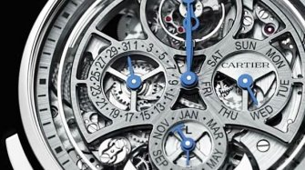 Video. Rotonde de Cartier Grande Complication Skeleton