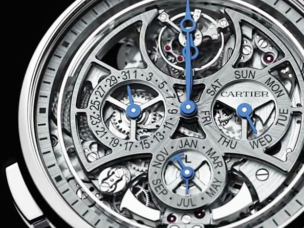 Cartier - Video. Rotonde de Cartier Grande Complication Skeleton