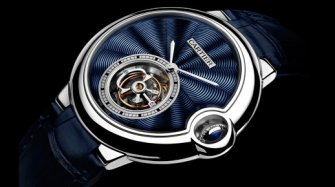 Ballon Bleu Flying Tourbillon enamel  Trends and style