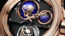 V17 World Time Bi-Axial Tourbillon