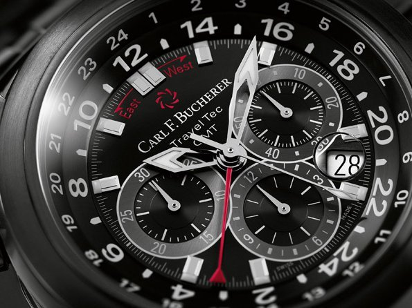 Carl F. Bucherer - Patravi TravelTec Black