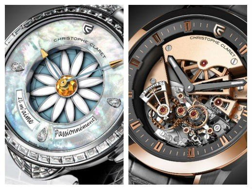 Christophe Claret  - Baselworld 2014 : Queen Margot and King Maestoso