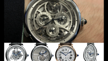 Cartier's extreme complications