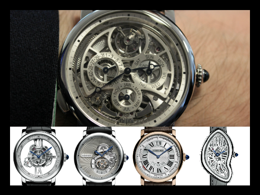 SIHH 2015 - Cartier's extreme complications