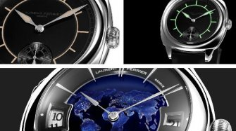 Laurent Ferrier makes a colourful showing