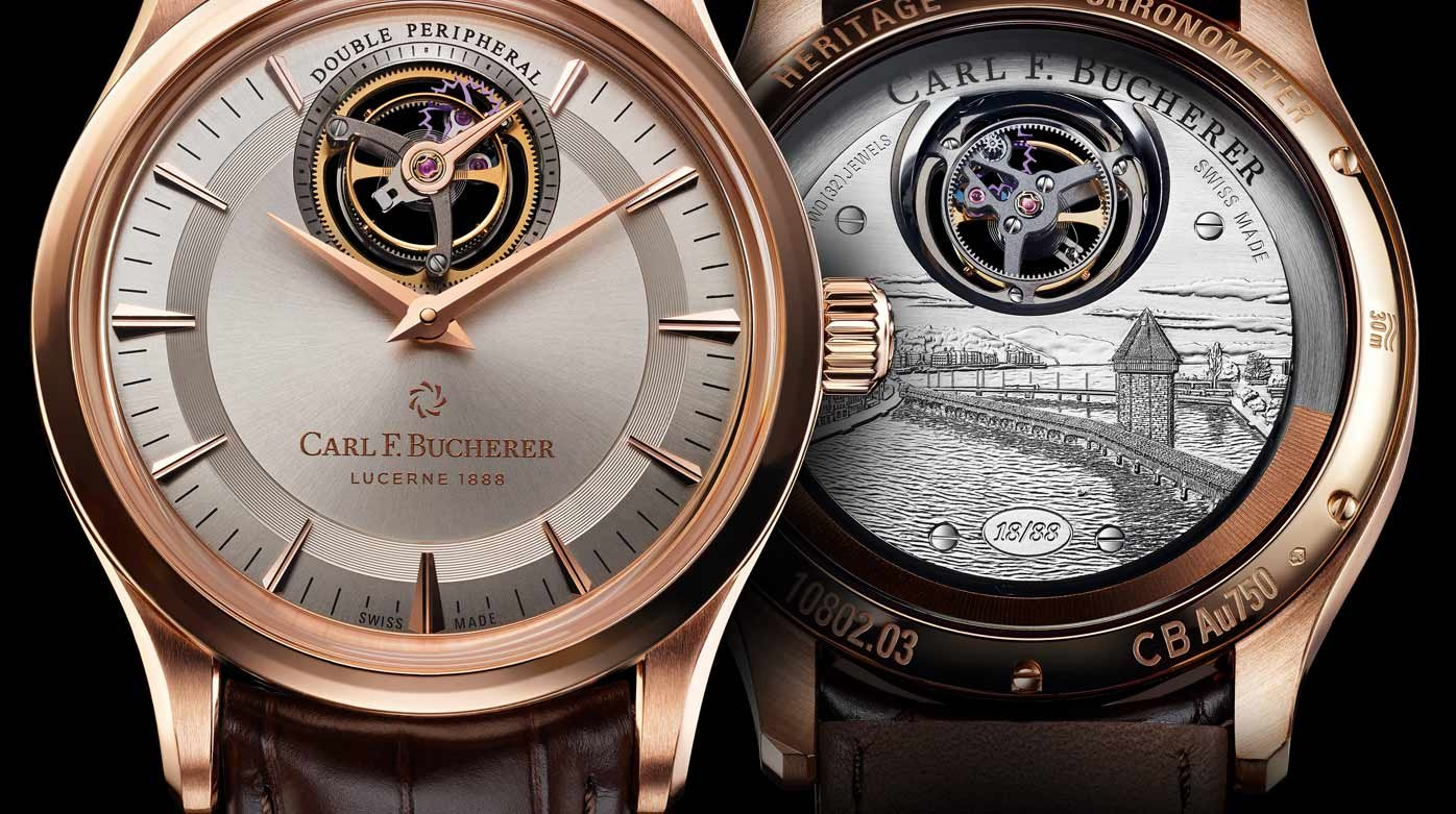 Carl F. Bucherer - Heritage Tourbillon Double Peripheral Limited Edition