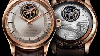 Heritage Tourbillon Double Peripheral Limited Edition Trends and style