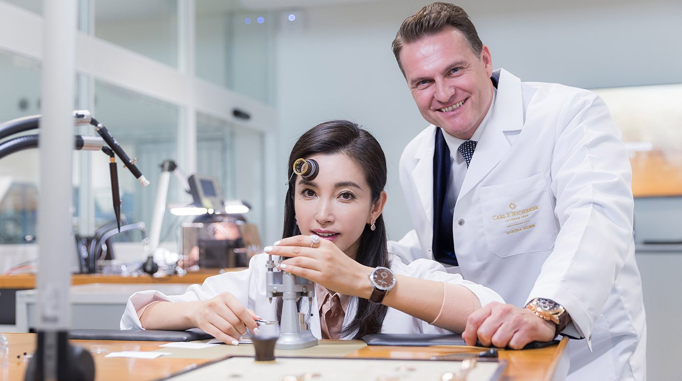 Carl F. Bucherer - Interview de Li Bingbing