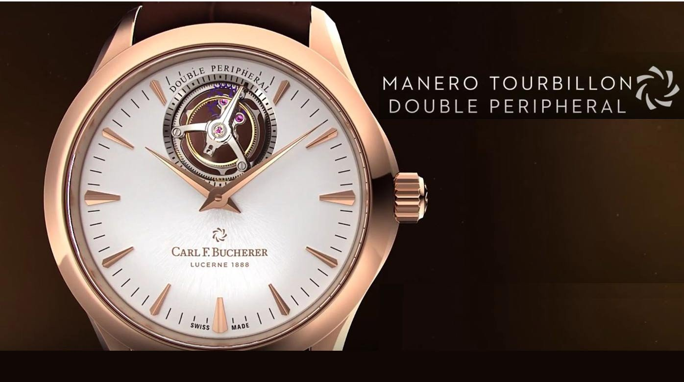 Carl F. Bucherer - Manero Tourbillon Double Peripheral