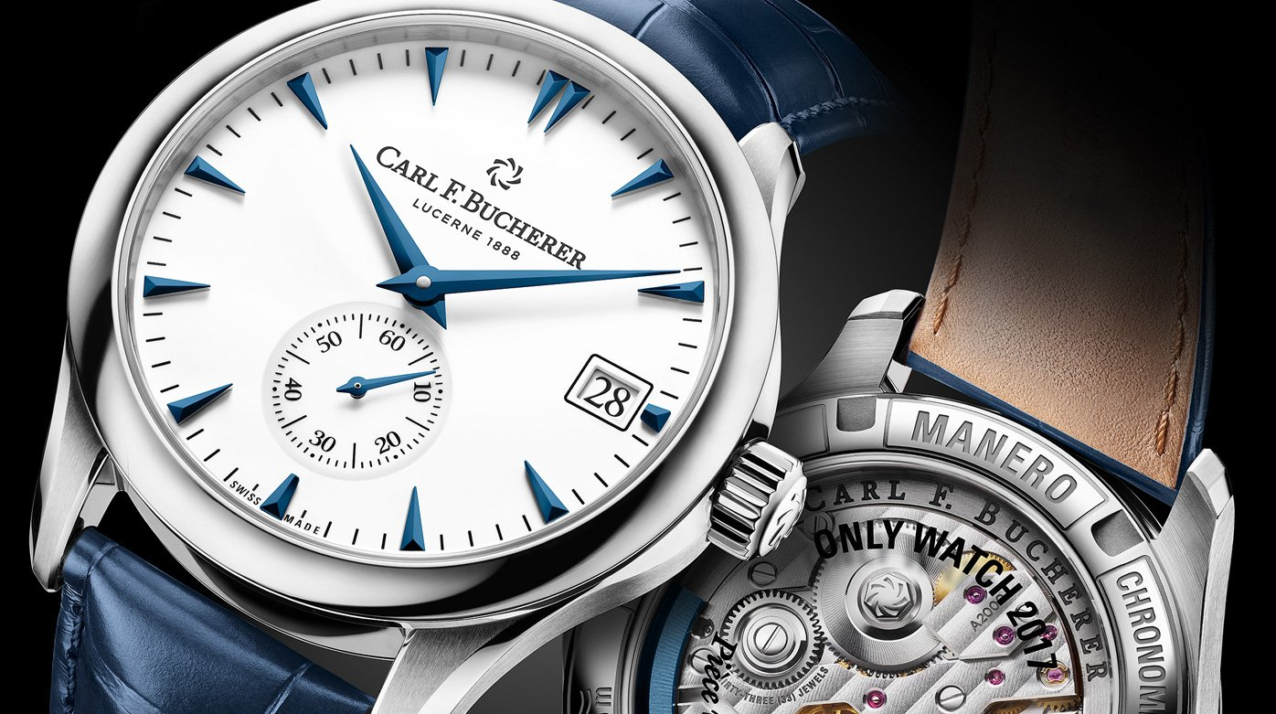 Carl F. Bucherer - Manero Peripheral for Only Watch 2017