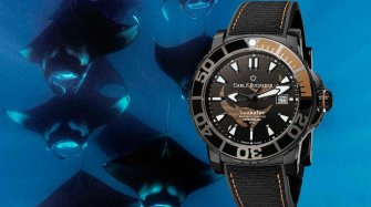 Launch of the Patravi ScubaTec Black Manta Special Edition Trends and style