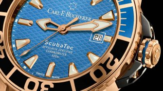 Patravi ScubaTec, red gold