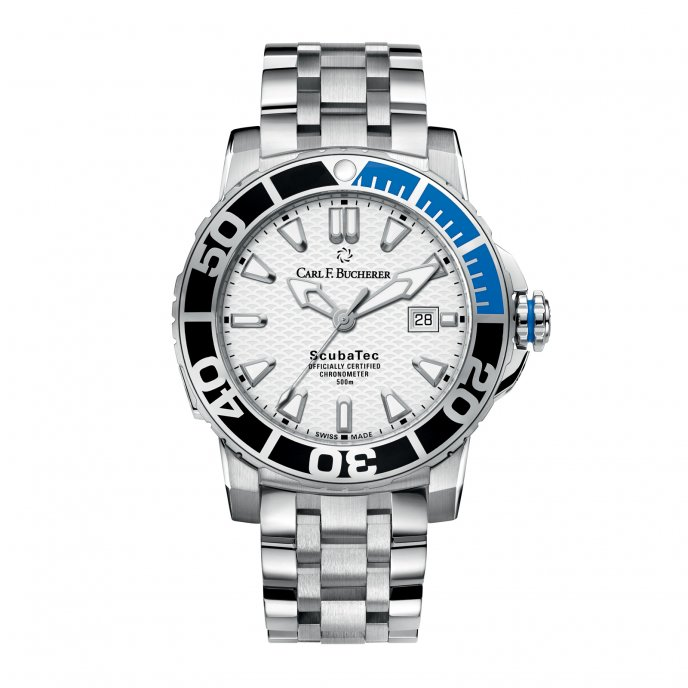 Carl F Bucherer Patravi Scubatec 00.10632.23.23.21 Watch.face-view
